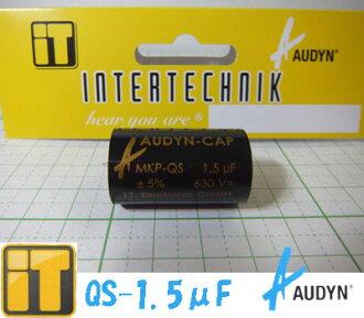 Internet tricks INTERTECHNIK film capacitors QS-1.50 μm F AUDYN CAP Odin Cap MKP-QS 1.50 MF / 630 V 5% AXIAL