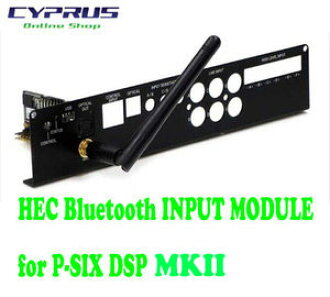 Germany, regular imports of Helix HELIX HEC Bluetooth INPUT MODULE for  P-SIX DSP P-SIX DSP for HEC modules Bluetooth module, antenna and private  side