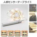 センサーテープライト 人感センサーライト 1M 間接照明 スイッチ 防水IP65 電池 送料...