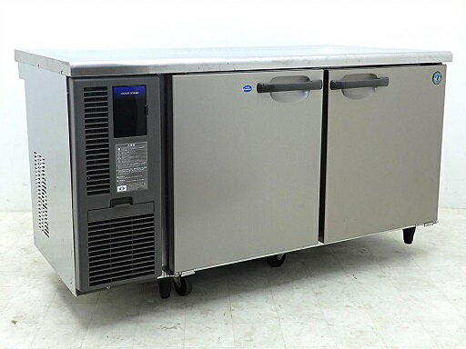 D3250【税込】2012年製 ホシザキ コールドテーブル冷凍冷蔵庫 RFT-150SDF-TH(冷凍203L/冷蔵200L)/124万【営業所止め】