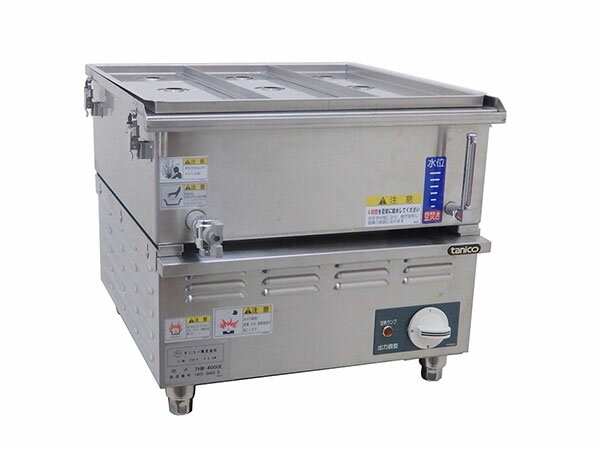 D0762【未使用品】2014年製 タニコー 卓上電気蒸し器 THM-4000E