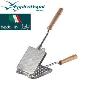 EPPICOTISPAI ワッフルメーカー(四角・厚) / 直火式 イタリア製 正規販売代理店
