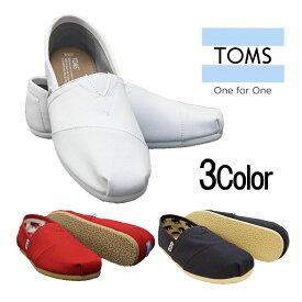 【 TOMS 】トムズ Mens TOMS トムズシューズ メンズ キャンバス ステッチ クラシック スリップオン スリッポン シューズ ビーチ 10008369