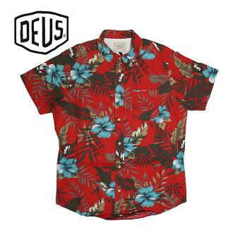fce75e016c75 DBLAND  Deus ex machina BENNETT FLORAL SHIRT floral design short sleeves  shirt showy men casual surf individual round cut
