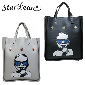 【Star Lean】スターリアン SWALLOW BABY LEATHER TOTE BAG トートバッグ 鞄 カバン スワロフスキー ベイビー メンズカジュアル