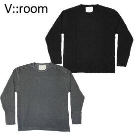 【v::room】ヴイルーム フリース FALL18 MEN Tencel/ cashmere Fleece リラックス感 カジュアル メンズ 182803