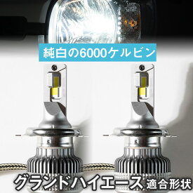 グランドハイエース LEDバルブ LEDライト LEDフォグ フォグランプ LED VCH10W ロービーム ハイビーム led ヘッドライト 6000k ホワイト