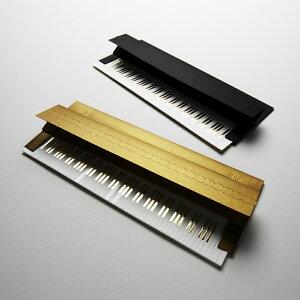 クリスマスカード 「ピアノカード」ゴールド/D-BROS