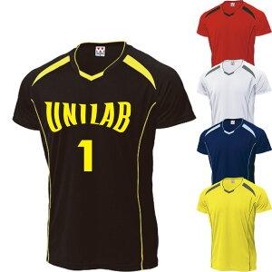 バレーボール ユニフォーム オーダー 半袖ゲームシャツ メンズ 大人用 5色 背番号・ネーム他 マーキング できます【別料金】 P1610