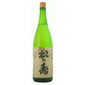 【日本酒 純米酒】松井酒造店 松の寿 純米酒 1800ml【栃木県】【家飲み】
