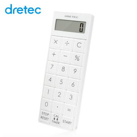 電卓 おしゃれ かわいい 携帯 ナース 小型 スリムサイズ 簡単操作 マグネット付 計算機 コンパクト シンプルデザイン タイマー キッチン 長時間 電卓付長時間タイマー cl-116 8桁電卓