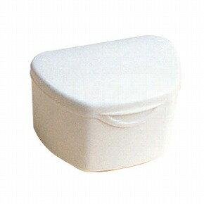 抗菌加工入れ歯ケース大 10個アイボリー(国産)