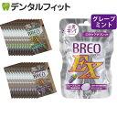 【メール便選択で送料無料】グリコ BREOEX ブレオ EX グレープミント 1パック(66g)+お試し品20袋(グレープミント10・…