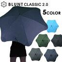 BLUNT CLASSIC 2.0 65cm / ブラント アンブレラ クラシック 2.0 [耐風傘 ブラントアンブレラ 傘 風に強い 雨具 メンズ…