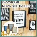 【あす楽対応】 フォトフレームセット / NOVA SCOTIA EDGE PHOTO FRAME SET [写真立て 壁掛け フォトフレーム セット…