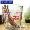 Fire King Measure CUP 500 ml /파이어 킹 메이저 컵 500 ml (안카혹킹사의 내열유리제 계량 컵)