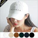 BLANCO刺繍コーデュロイキャップ・全6色・n48027 レディース【acc】【帽子 ロゴ カジュアル】