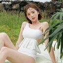 アンバランスフレアビキニ・全4色・e44005 レディース【bw-2020】【韓国 ファッション bw】【水着 ビキニ ビーチウェ…