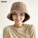 ニットバケットハット・全4色 n54565 レディース【acc】【韓国 ファッション ニット ニットハット 帽子 ハット キャッ…