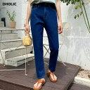 【タイム特価】テーパードデニムパンツ・全3色・t64605 レディース 【pt】韓国 ファッション ボトムス パンツ ロング …