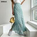【新作10%OFF】パンチングニットスカート・全3色・b56050 レディース【sk】【韓国 ファッション スカート ロングスカ…