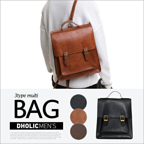 3WAYスクールカバン・全3色・n48744 メンズ【bag】【リュック バックパック オフィスカジュアル クロス 人気】
