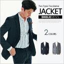 2TYPEツーボタンジャケット・全2色 n48508 メンズ【jk】【オフィスカジュアル ビジネス】【セットアップ単品】【卒業式 入学式 タイト】【人気】