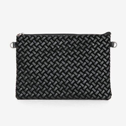 メッシュ編みフェイクレザークラッチバッグ・全1色・n46917-1 メンズ【bag】【ビジネス オフィスカジュアル フォーマル】