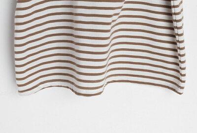 ボーダーボクシーフィットTシャツ・全5色・t52894レディース【tops】【トップスTシャツ長袖ラウンドネックボーダーゆったり綿コットンカジュアルシンプルかわいい春】