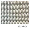 ホログラムシート マイクロレンズ(シルバー) 60cm×2m【ホログラムシール】