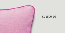 パイピングクッションカバー【40×40cm】 ピンク×ラズベリー CU2500-26