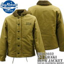 BUZZ RICKSON'S バズリクソンズ DECK JACKET N-1 Khaki NAVAL CLOTHING DEPOT DEMOTEX-ED BR12032