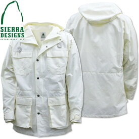 SIERRA DESIGNS シエラデザインズ MOUNTAIN PARKA マウンテンパーカー 1329J White/White