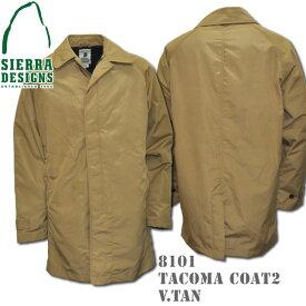 SIERRA DESIGNS シエラデザインズ TACOMA COAT 2 タコマコート 8101 V.tan