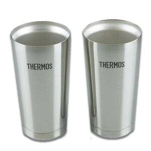 THERMOS サーモス 真空断熱タンブラー2個セット 400ml シルバー JMO-GP2