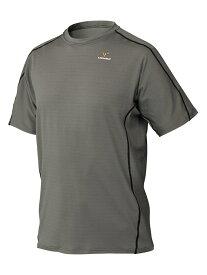 VENEX ベネクス リカバリーウェア リラックス ショートスリーブ メンズ インナー Tシャツ パジャマ スモーキーグレー XXLサイズ 6501