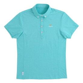 VENEX ベネクス リカバリーウェア リフレッシュポロシャツ レディース スポーツウェア 半袖 ブルーターコイズ Mサイズ 6711