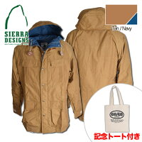 SIERRADESIGNS(シエラデザインズ)50thAnniversaryMOUNTAINPARKAマウンテンパーカー5972Tan/Navy