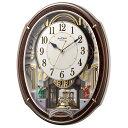 【北海道・沖縄・離島配送不可】4MN545RH23 電波からくり時計 リズム時計 スモールワールドアルディ 壁掛け時計 電波…