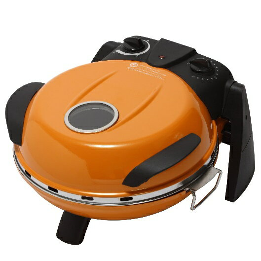 FPM-160 ピザメーカー フカイ工業 さくさく石窯 タイマー付 FPM160 オレンジ【KK9N0D18P】