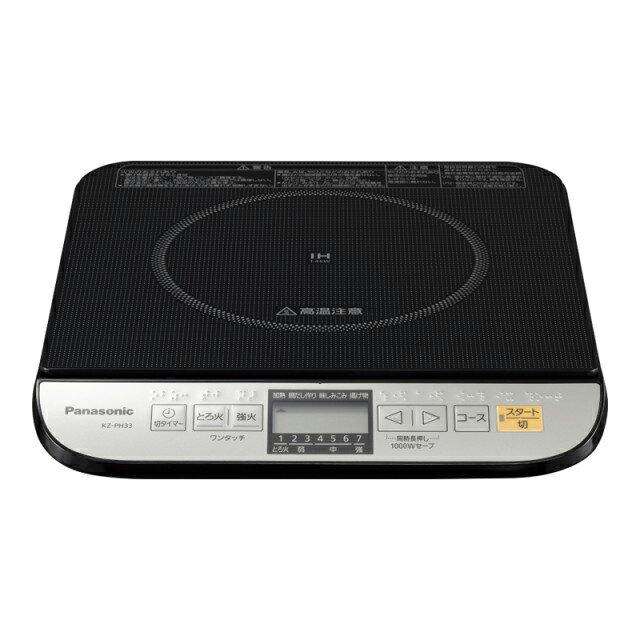 KZ-PH33-K 卓上IH調理器 Panasonic パナソニック KZPH33K ブラック 【KK9N0D18P】