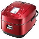 RZ-AW3000M-R IHジャー炊飯器 HITACHI 日立 圧力スチーム炊き ふっくら御膳 5.5合炊き RZAW3000MR メタリックレッド【…