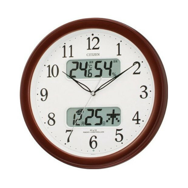 4FYA01-006 壁掛け時計 シチズン CITIZEN 電波時計 ネムリーナカレンダーM01 4FYA01006 シチズン時計 電波掛け時計 電波掛時計 壁掛時計 かけ時計 壁掛け電波時計 電波壁掛け時計02P05Oct11