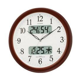 4FYA01-006 壁掛け時計 シチズン CITIZEN 電波時計 ネムリーナカレンダーM01 4FYA01006 シチズン時計 電波掛け時計 電波掛時計 壁掛時計 かけ時計 壁掛け電波時計 電波壁掛け時計