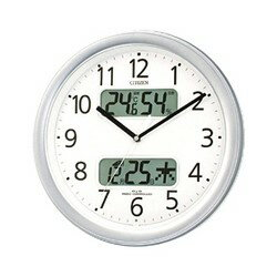 4FYA01-019 壁掛け時計 シチズン CITIZEN 電波時計 ネムリーナカレンダーM01 4FYA01019 シチズン時計 電波掛け時計 電波掛時計 壁掛時計 かけ時計 壁掛け電波時計 電波壁掛け時計02P05Oct11