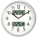 4FYA01-019 壁掛け時計 シチズン CITIZEN 電波時計 ネムリーナカレンダーM01 4FYA01019 シチズン時計 電波掛け時計 電…