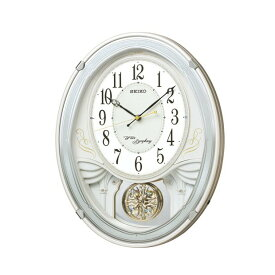 AM258W 掛時計 SEIKO セイコー アミューズ掛時計 壁掛け時計 電波時計 電波掛け時計 電波掛時計 壁掛時計 かけ時計 壁掛け電波時計 電波壁掛け