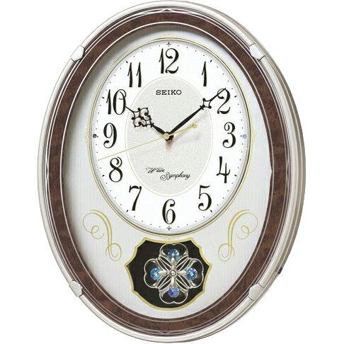 AM259B 壁掛け時計 SEIKO セイコー 電波時計 電波掛け時計 電波掛時計 壁掛時計 かけ時計 壁掛け電波時計 電波壁掛け
