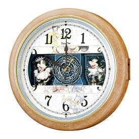 FW561A SEIKO セイコー 壁掛け時計 電波時計 ディズニータイム セイコー時計/電波掛け時計/電波掛時計/壁掛時計/かけ時計/壁掛け電波時計/電波壁掛け時計/ミッキーマウス/ミニーマウス