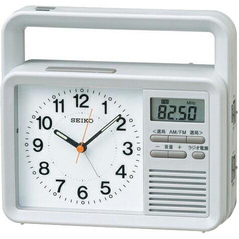 KR885N 目覚まし時計 SEIKO セイコー 多機能防災クロック